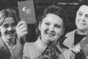 Советский пасспоорт в шестидесятых годах